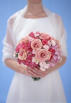 ramo de rosas rosa