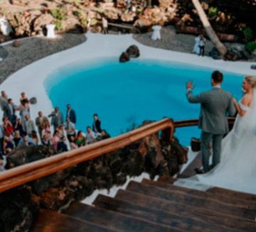 salones de boda en Lanzarote Jameos del Agua
