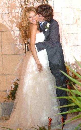 Vestidos de novia de las famosas mexicanas