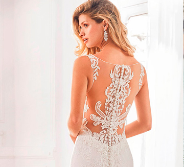 Vestidos de novia tatto lace Aire Barcelona 2020