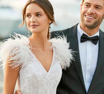 Vestidos de novia Aire Barcelona 2021