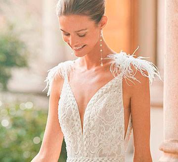 Vestidos de novia de v Aire Barcelona 2022