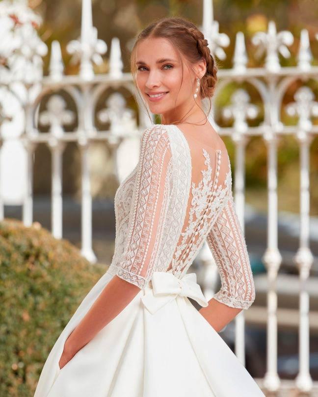 Aire barcelona 2021 vestido de novia Isamel
