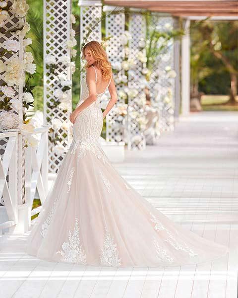 Aire barcelona novias 2022 vestido de novia Xabel