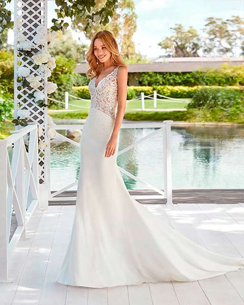 Aire barcelona novias 2022 vestido de novia Xylia