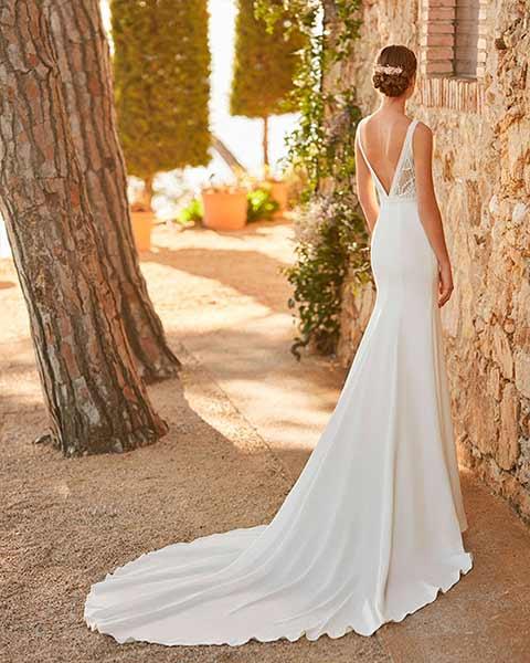 Aire barcelona novias 2022 vestido de novia Pau