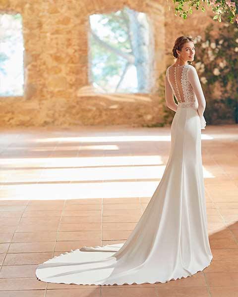 Aire barcelona novias 2022 vestido de novia Pames