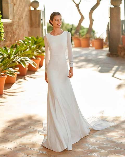 Aire barcelona novias 2022 vestido de novia Palac