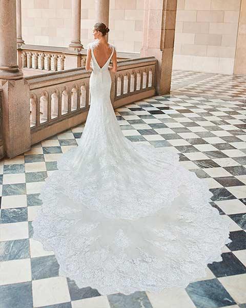 Aire barcelona novias 2022 vestido de novia Darly