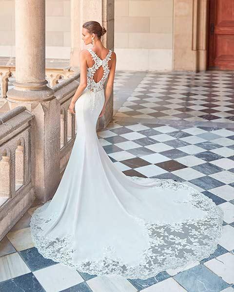 Aire barcelona novias 2022 vestido de novia Dalia