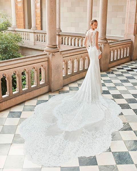 Aire barcelona novias 2022 vestido de novia Darles