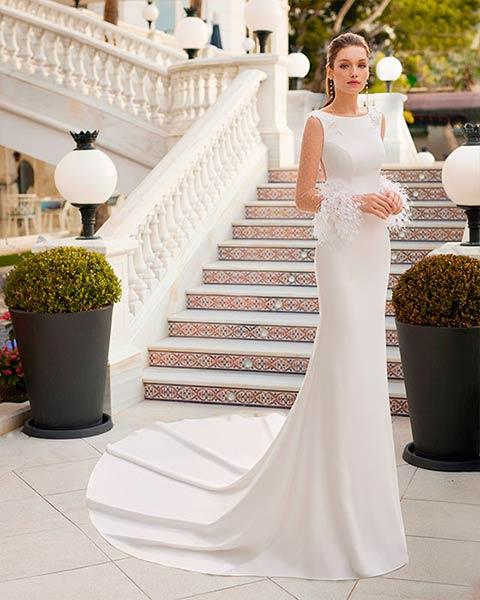Aire barcelona novias 2022 vestido de novia Dalma