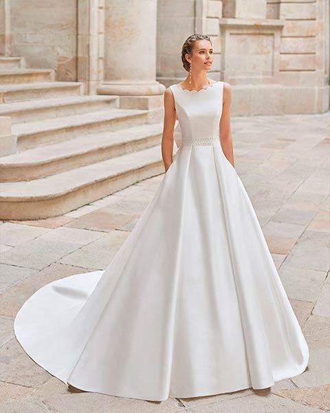 Aire barcelona novias 2022 vestido de novia Dimas