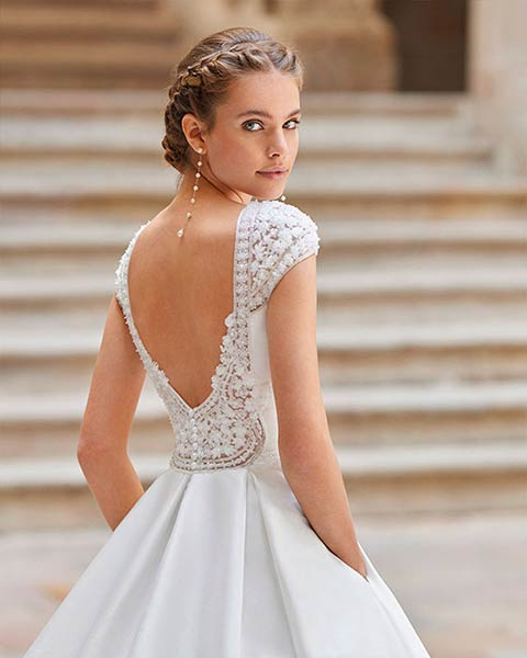 Aire barcelona novias 2022 vestido de novia Dilana