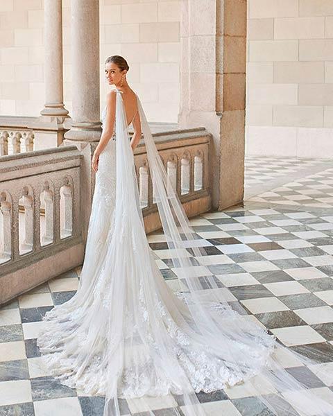 Aire barcelona novias 2022 vestido de novia Darias