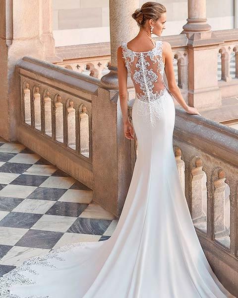 Aire barcelona novias 2022 vestido de novia Daisy