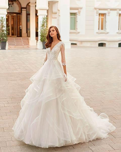 Aire barcelona novias 2022 vestido de novia Detroit
