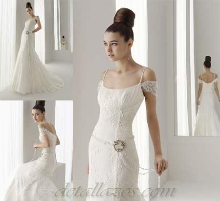 vestidos de novia medievales