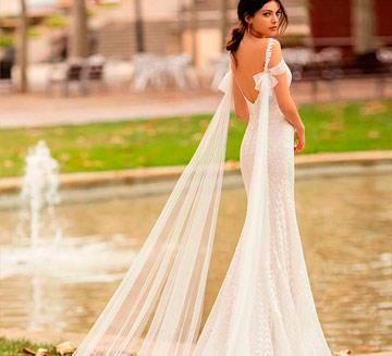 Vestidos de novia corte sirena Alma Novia