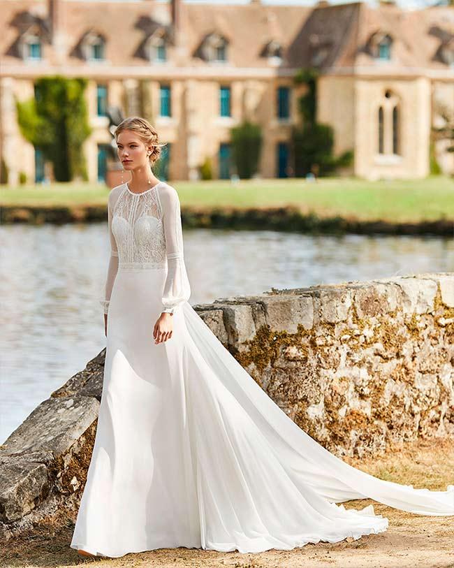 vestidos de novia medievales Alma novia