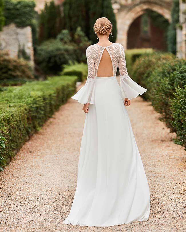 Alma Novia Vestido de novia con mangas 2021 Wasey
