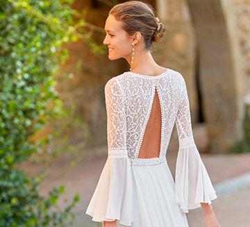 Vestidos de novia con mangas Alma Novia 2021
