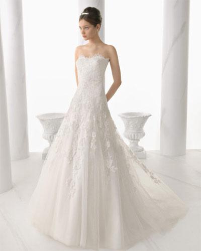 alma novia 2014 vestido necora | vestidos de novia de alma novia