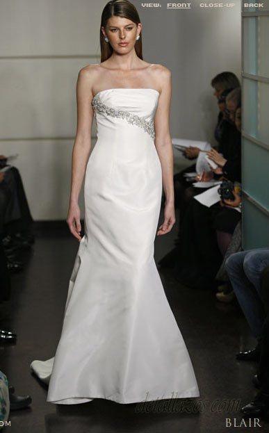 vestido de novias Badgley mischka