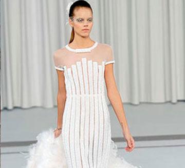 Chanel Vestidos de Novias
