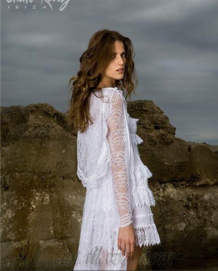 Vestidos de novia ibicencos pronovias