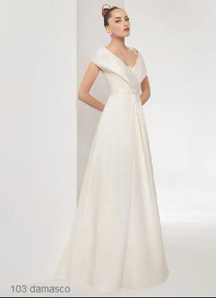 trajes de novias sencillos