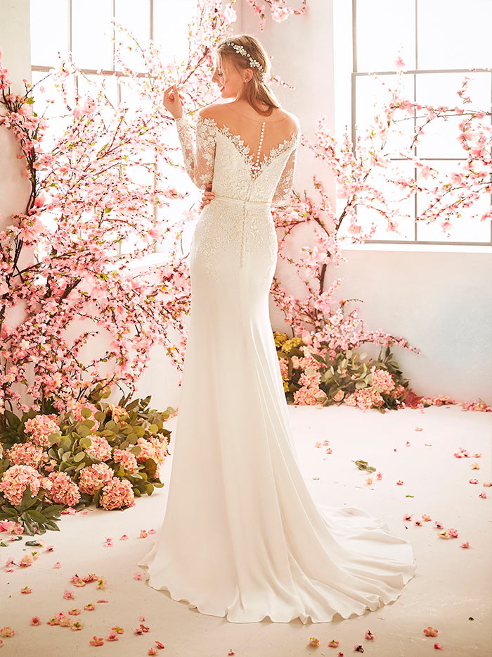 La Sposa vestidos de corte sirena