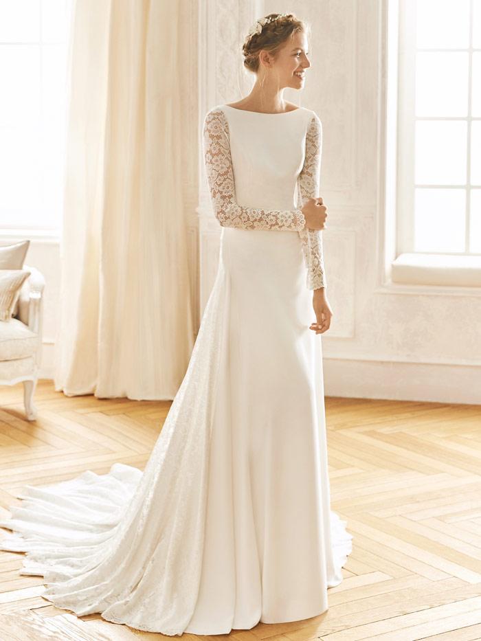 La Sposa 2020 vestidos de novia sencillos