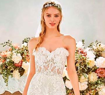 Vestidos de novia escote corazón la Sposa 2020