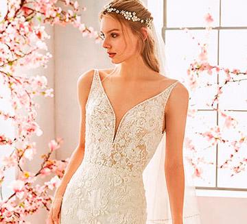 Vestidos de novia de encajes la Sposa 2020