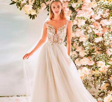 Vestidos de novia corte princesa la Sposa 2020