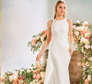Vestidos de novia sencillos la Sposa 2020