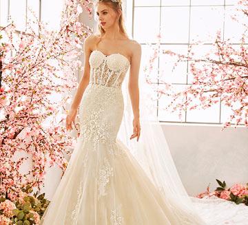Vestidos de novia corte sirena la Sposa 2020