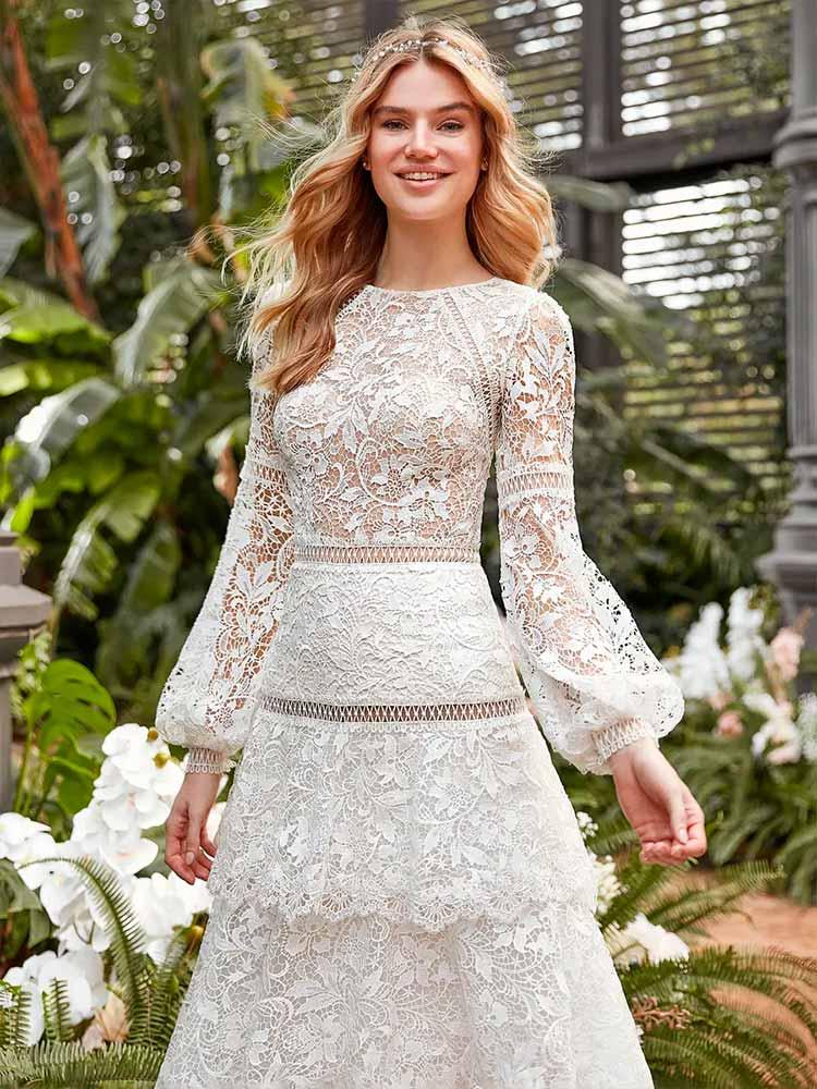 vestidos de novia medievales La sposa