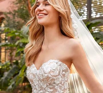 Vestidos de novia escote corazón la Sposa 2021