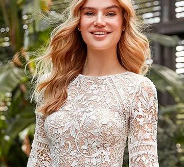 Vestidos de novia de encajes la Sposa 2021