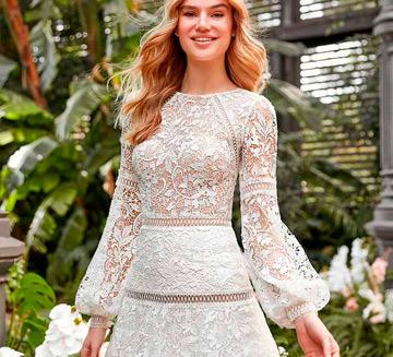 Vestidos de novia de mangas la Sposa 2021