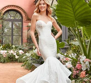 Vestidos de novia corte sirena la sposa 2021