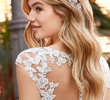 Vestidos de novia efecto tatuaje la Sposa 2021