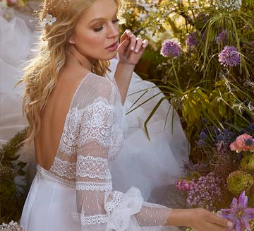 Vestidos de novia con mangas la Sposa 2022