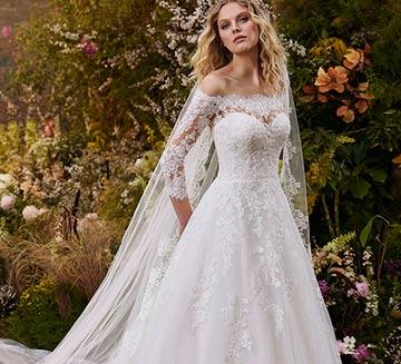 Vestidos de novia corte princesa la Sposa 2022