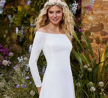 Vestidos de novia sencillos la Sposa 2021