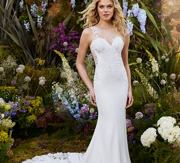 Vestidos de novia corte sirena la sposa 2022