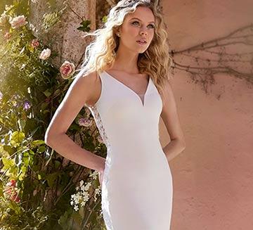 Vestidos de novia escote en V la Sposa 2022