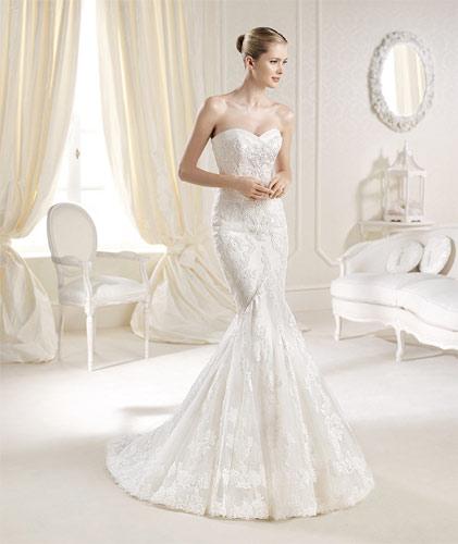 la sposa novias 2014 modelo mullet - vestidos de novia de la sposa 2014